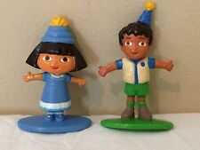 Dora & Diego Dora the Explorer Figures, Cake Toppers, Chutes and Ladders Movers