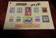 000 Complete Hashemite Kingdom of Jordan 10 Stamp Lot 1995? Air Mail & Others