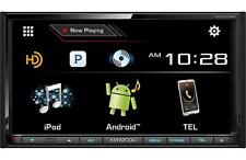 Kenwood DDX773BH Double 2 DIN DVD/CD Player Android iPhone HD Radio Bluetooth