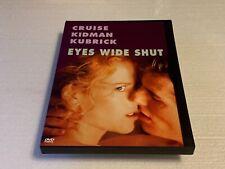 Eyes Wide Shut (Dvd, 2000) Snapcase Stanley Kubrick Usa Region 1 Rare Oop