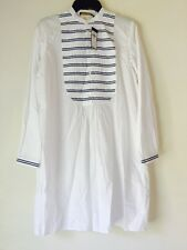NWT Polo Ralph Lauren Striped-Bib Shirtdress. Size 10. $198.00