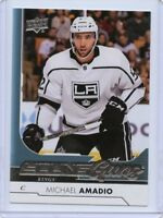 17/18 UPPER DECK YOUNG GUNS ROOKIE RC #491 MICHAEL AMADIO KINGS *53324