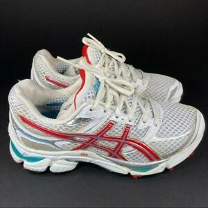 ASICS Gel Cumulus 13 Women's Size 7(D) Red/ Blue Running/ Athletic Shoes