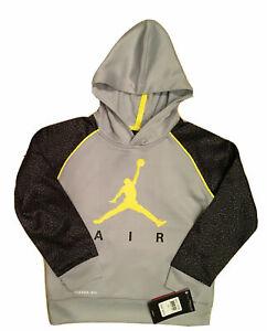 NWT Nike or Air Jordan Boys Dri-Fit/Therma-Fit Hoodie Sweatshirt; Sizes: 4,5,6,7