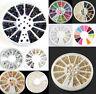 3D Beauty Rhinestone Resin Acrylic Nail Art Tips Decoration Manicure Wheel JT13