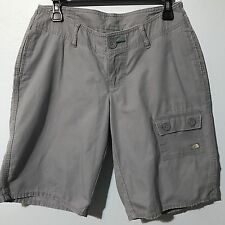 "The North Face Womens Shorts, Size 6 Long, Gray, Hiking Casual 11"" Inseam"
