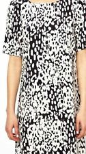 ASOS Women's Animal Print Short Sleeve Dresses Midi