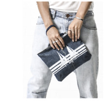 NWT One Teaspoon St. Barths Clutch Darkies Denim Bag