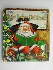 The Night Before Christmas, Whitman Tell-A-Tale, Zillah Lesko Art, 1953