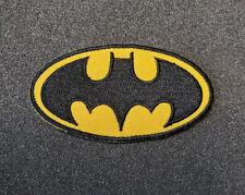 Batman Black & Yellow Logo Patch 3 inches wide
