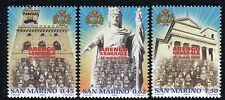 SAN MARINO 2006 ARENGO-GOVERNMENT PALACE/STATUE LIBERTY/BASILICA/PEOPLES/EMBLEM