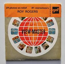 View-Master : Roy Rogers - Adventure Roundup - année 1956