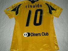 AEK Athens Soccer Jersey  Puma Greece Football Shirt  RIVALDO  10  BNWT