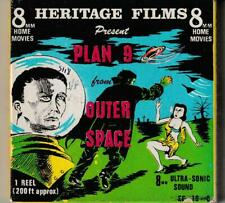"""8mm FILM """"PLAN 9 FROM OUTER SPACE""""  SOUND B&W 200 FT. WITH BELA LUGOSI & VAMPIRA"""