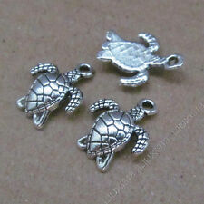 20x Tibetan Silver Sea turtle Animal Pendant Charms Jewellery Accessories /625