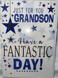 Older grandson birthday card / Grandson Birthday Card 6 Styles