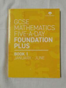 GCSE Mathematics Five-A-Day Foundation Plus Book 1 Jan-Jun CorbettMaths