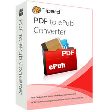 PDF to ePub Converter Tipard dt.Vollversion 1 Jahr -  Lizenz ESD Download