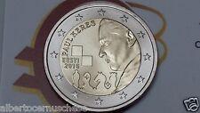 2 euro 2016 fdc ESTONIA 100 Paul Keres Eesti Estonie Estland Эстония