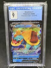 Pokemon CGC Graded 9 Mint Drednaw V Champion's Path 014/073 FREE SHIPPING! 😀