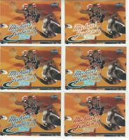 ( 6 ) Card Lot 1999 Fleer Ultra #85 Michael Jordan Chicago Bulls HOF