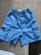 Boys Pine Peak Blues SOFT Cargo Shorts 18M