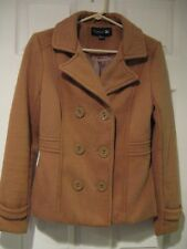 women's FOREVER 21 cropped jacket--size MED--brown--EUC