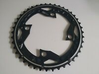 Shimano Chainring DEORE Outer Black Alloy MTB FC-M610 104mm BCD 42T Y10098020