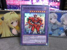 1x Yugioh Vision HERO Trinity GENF-EN091 Super Rare NM/M