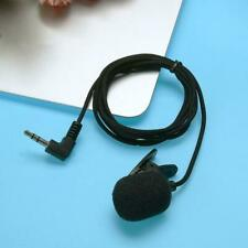 Portable Mini Clip-on Revers Mikrofon 3,5 mm Freisprech-Kondensator verkabe