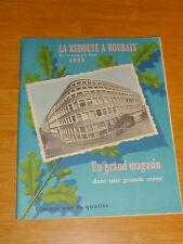 Ancien catalogue LA REDOUTE 1959