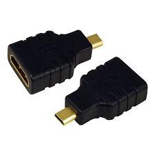 LogiLink Adapter HDMI A Buchse, Micro HDMI D Stecker Video Audio Zubehör AH0010
