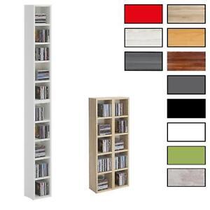 CD DVD Blueray Regal Hänge Stand Wand Aufbewahrungs Dekoregal bis zu 160 CDs