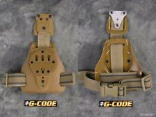 G-Code Mule ISS Drop Leg Holster Carry Platform w/ RTI Hanger System Coyote Tan