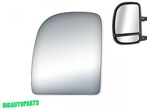Upper Towing Mirror Glass for Ford E150,E150 Club Wagon,E-250,E350 Left Side LH
