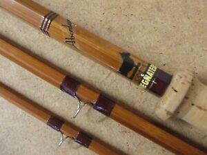 Vintage SHARPES 12' SCOTTIE Impregnated cane Salmon Fly Rod - Line  8/9 *LOVELY*