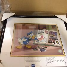 """Walt Disney's """"Donalds Memory Book"""" Limited Edition  Signed by Tony Anselmo"""