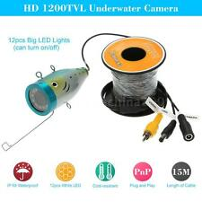 Underwater Fish Finder 15M Hd 1200Tvl Cctv Camera for Fishing Popular X1W4