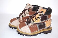 Timberland Toddler patchwork Brown 19827 Boots Shoes