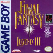 Final Fantasy Legend 3 III Game Boy
