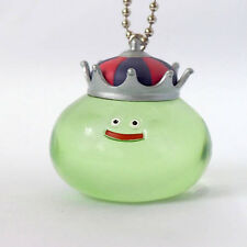 Square Enix SQEX Toys Dragon Quest Crystal Monsters King Slime Green Key chain
