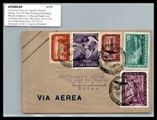 GP GOLDPATH: ARGENTINA COVER 1952 AIR MAIL _CV386_P27