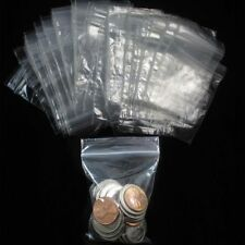 """200 Ziplock W 2"""" x 3"""" H Reclosable Clear Plastic Poly Bags Small Baggies 2 Mil"""