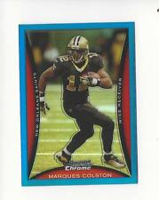 2008 Bowman Chrome Blue Refractor #BC191 Marques Colston Saints 150/150