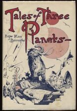 Tales of Three Planets by Edgar Rice Burroughs.  First edition.