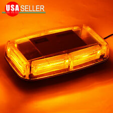 COB LED Amber/Yellow Roof Top Warning Strobe Emergency Hazard Light Burst Series