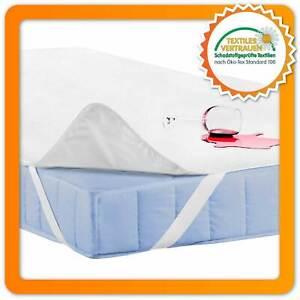 Wasserfeste Matratzenauflage Matratzenschoner Matratzenschutz Betteinlage Bambus
