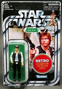 Han Solo - Star Wars The Retro Collection Action Figure (Brand New!)