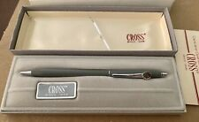 Cross Matte Gray & Chrome Pen #2102 with Disney Mickey Mouse Emblem