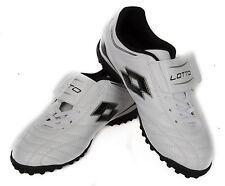 Scarpa calcetto bimbo bambino junior  LOTTO a. N1419 taglia 36 col. WHITE BLACK